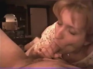 BEAUTIFUL BLOND GIVES LUCKY MAN..